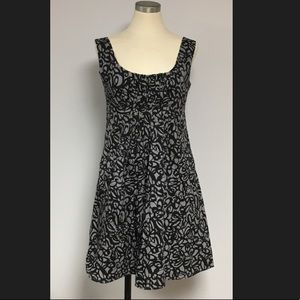 Cotton Poplin Printed Dress